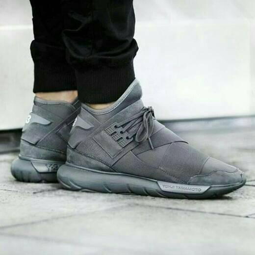 29ef29e7be6d0 Sepatu Adidas Y3 Qasa Yohji Yamamoto Vista Grey (PREMIUM ORIGINAL)