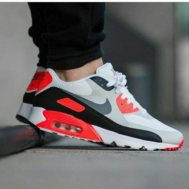 watch ee2d7 48512 100% Original Nike Air Max 90 Ultra Essential Infrared BNIB