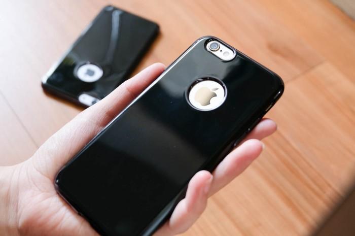 check out 6602d 8e2be Jual Case Jet Black iPhone 6 / 6S / 6Plus / 6S Plus JetBlack Silicone Jelly  - Jakarta Utara - ipadjakarta | Tokopedia