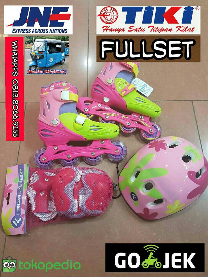 Jual Sepatu Roda Sayang Anak. Fullset lengkap. Bisa Set Roda Bajaj ... 5a61f802f4