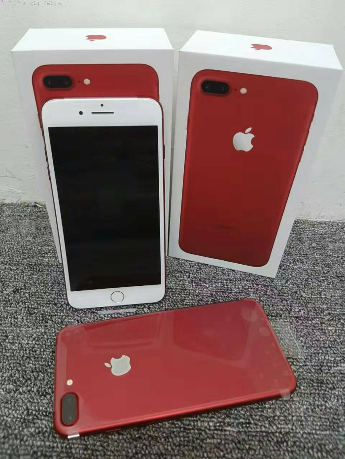 Jual Iphone 7 Plus 7 7plus Red Merah Edition Hdc Pro Extreme Ultra