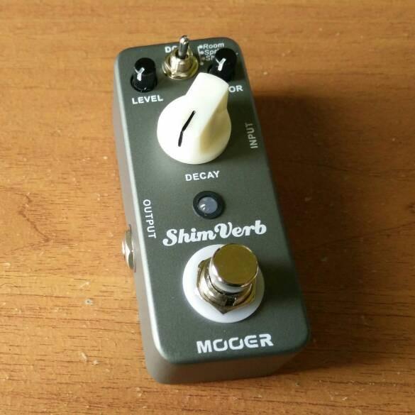 harga Mooer shim verb reverb pedal efek gitar stompbox Tokopedia.com