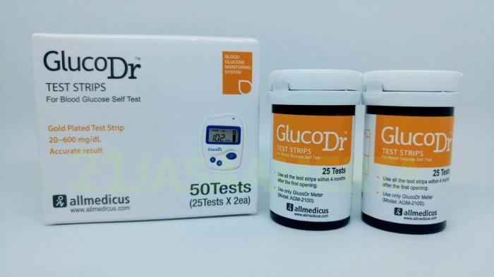 harga Glucodr Biosensor Test Strip Tokopedia.com