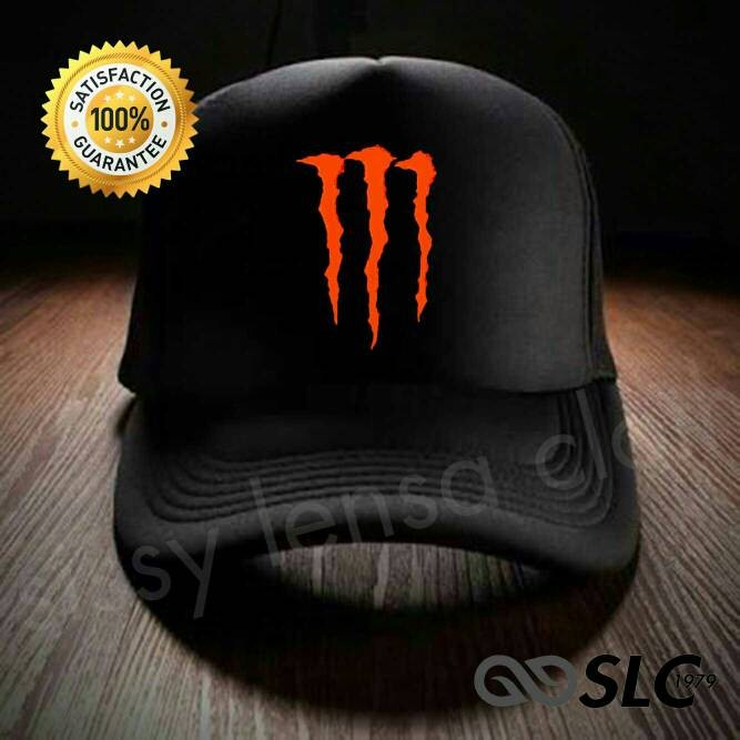 harga Topi jaring trucker monster energy cr/7 - slc Tokopedia.com