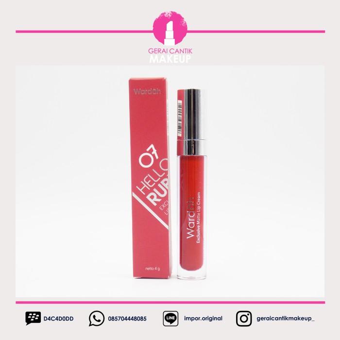 Foto Produk Wardah - Exclusive - Matte - LipCream - Hello Ruby dari Skin First Malang