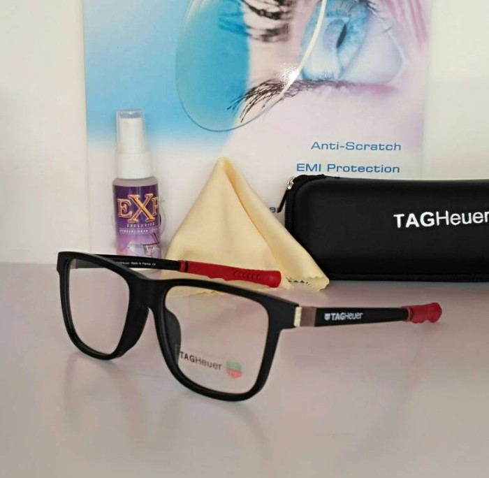 Frame Kacamata Tag Heuer 0520 Blk - Rd kacamata Minus kacamata Olahraga. 565b36a8ed