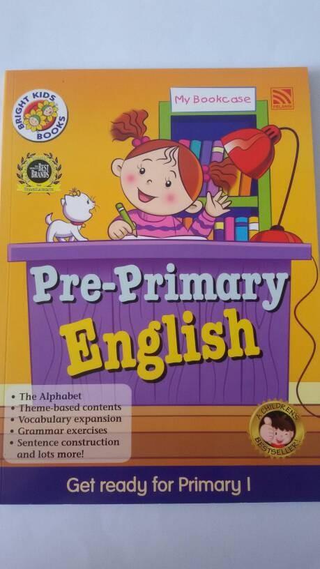 harga Bright kids book pre-primary english Tokopedia.com