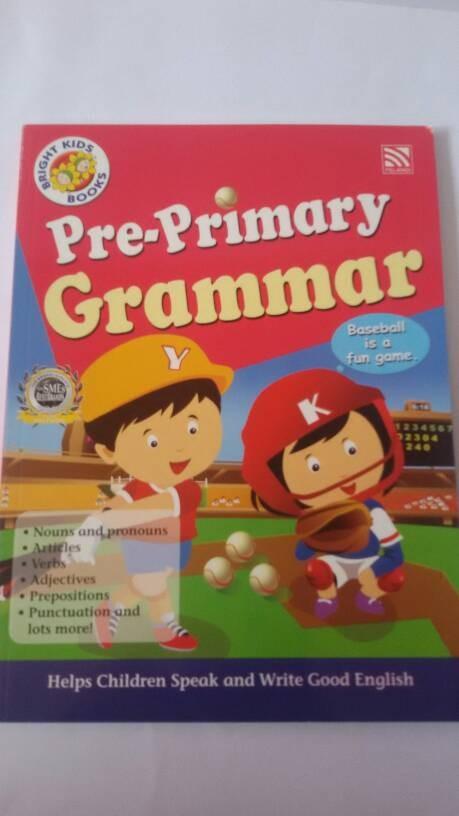 harga Bright kids book pre-primary grammar Tokopedia.com