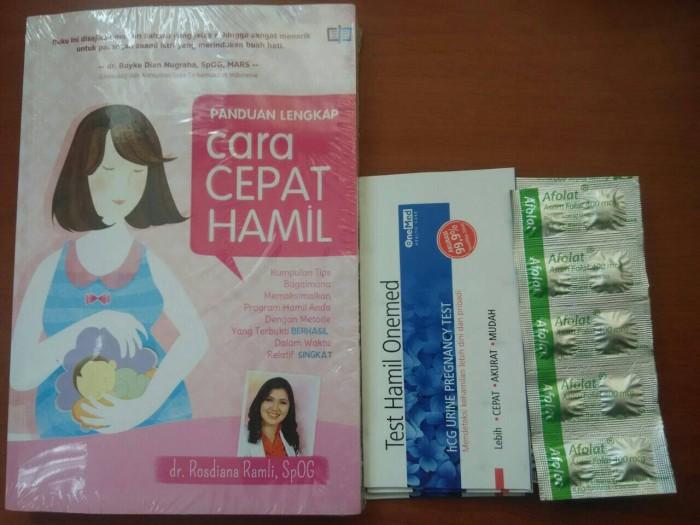 harga Buku panduan agar cepat hamil Tokopedia.com