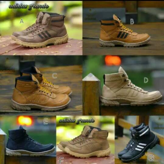 Jual sepatu boot safety pria adidas cek harga di PriceArea.com ff798be62d