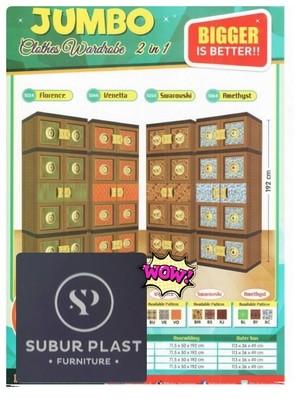 harga Lemari plastik batik mas gantung super jumbo Tokopedia.com