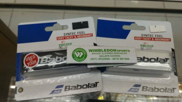 harga Grip babolat syntec feel/replacement grip dasar babolat syntec feel Tokopedia.com