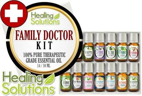 harga Healing Solutions Essential Oil Family Doctor 14 Pcs Tokopedia.com