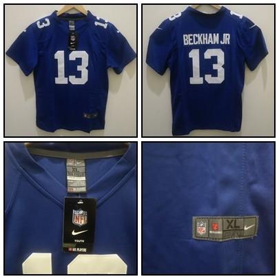 hot sale online 7090d 7e3f8 Jual JERSEY NFL NEW YORK GIANTS #13 ODELL BECKHAM JR BIRU - Kota Bandung -  BJS -Bandung Jersey Shop | Tokopedia