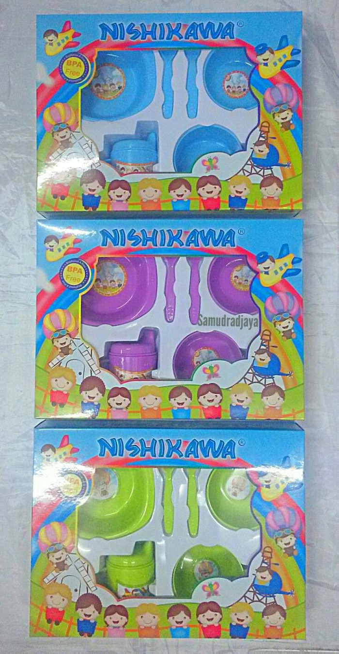 harga Feeding set nishikawa medium | peralatan makan bayi Tokopedia.com