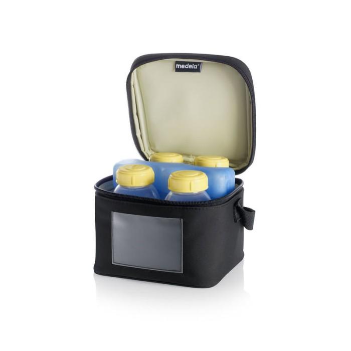 Foto Produk Medela Cooler Bag with 4 Breastmilk Bottles & 1 Coolling Element dari Medela