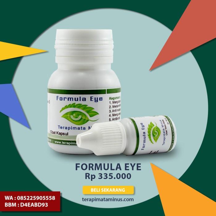 Foto Produk Formula Eye Obat Herbal Mata Minus dan Silinder dari Pusat Musik Terapi Otak