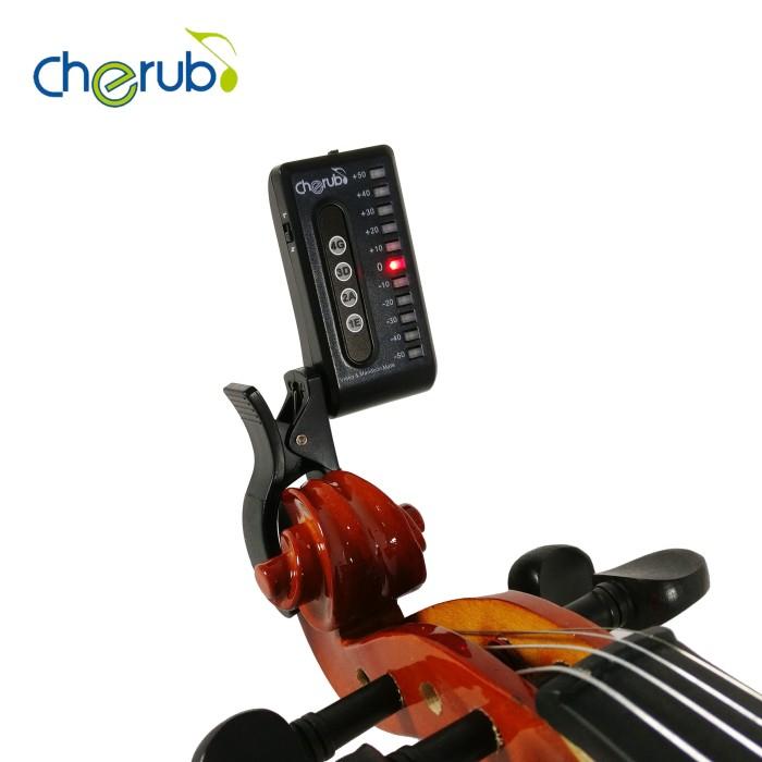 harga Tuner biola dan mandolin clip-on cherub wst-550vm Tokopedia.com