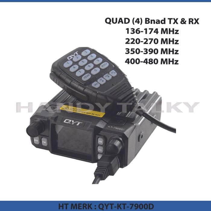 harga Qyt kt-7900d quad band mini mobile radio Tokopedia.com