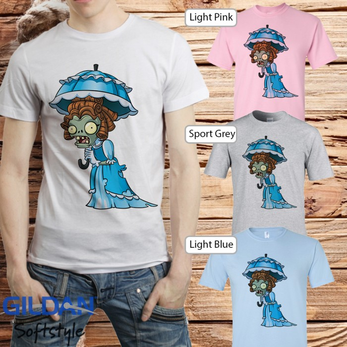 harga Baju kaos t-shirt anime manga kartun plant vs zombie 27 Tokopedia.com