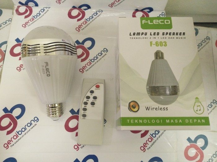 harga Speaker bluetooth lampu fleco f-603 disco remote wireless brt 500gr de Tokopedia.com