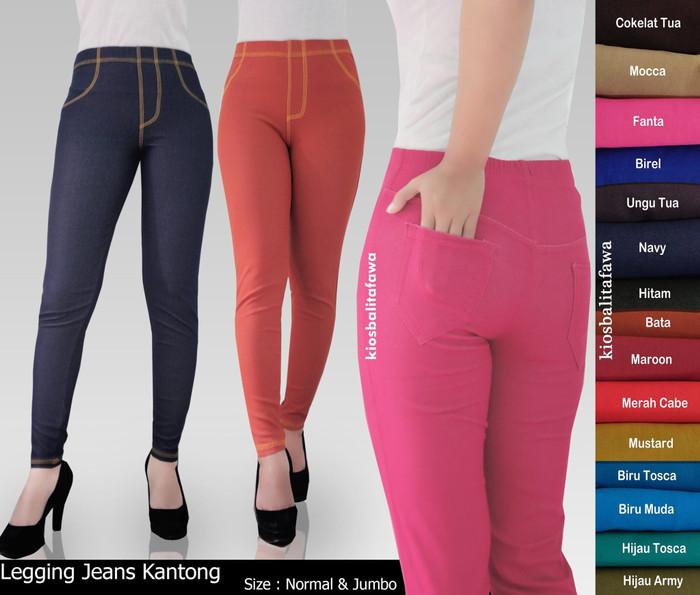 Jual Celana Dewasa Jumbo Celana Legging Jeans Kantong Ukuran Jumbo Fit To Jakarta Timur Kios Balita Fawaa Tokopedia