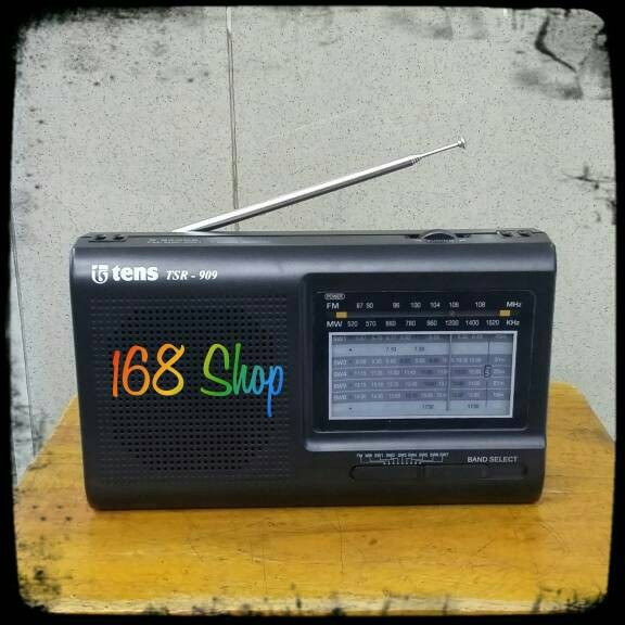 Radio tens TSR 909 9 Bands Receiver World Receiver