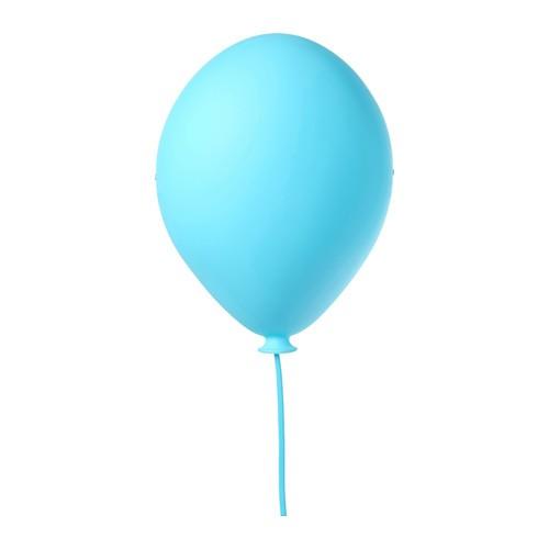 harga Ikea dromminge ~ kap lampu dinding bentuk balon biru | blue wall lamp Tokopedia.com