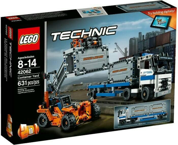 harga Lego 42062 technic : container yard Tokopedia.com