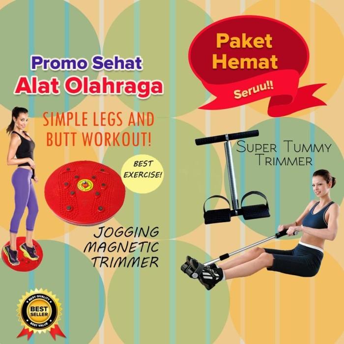 Peninggi Badan dan Pelangsing Perut (Tummy & Jogging Twister Trimmer)
