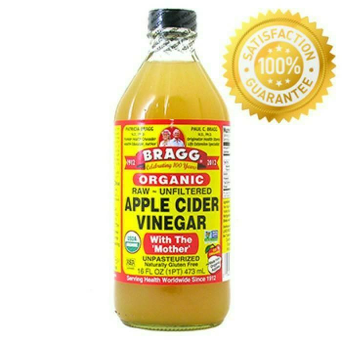 harga Bragg apple cider vinegar 473ml cuka apel organik bragg original asli Tokopedia.com