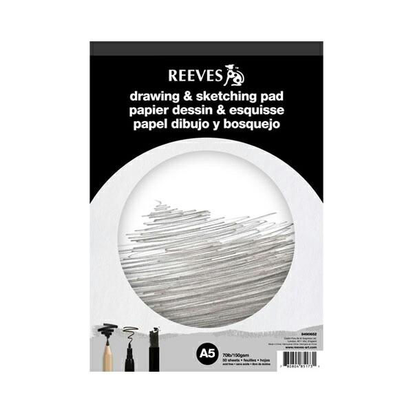 Foto Produk Reeves Drawing & Sketching Pad ukuran A5 dari Artfren Indonesia