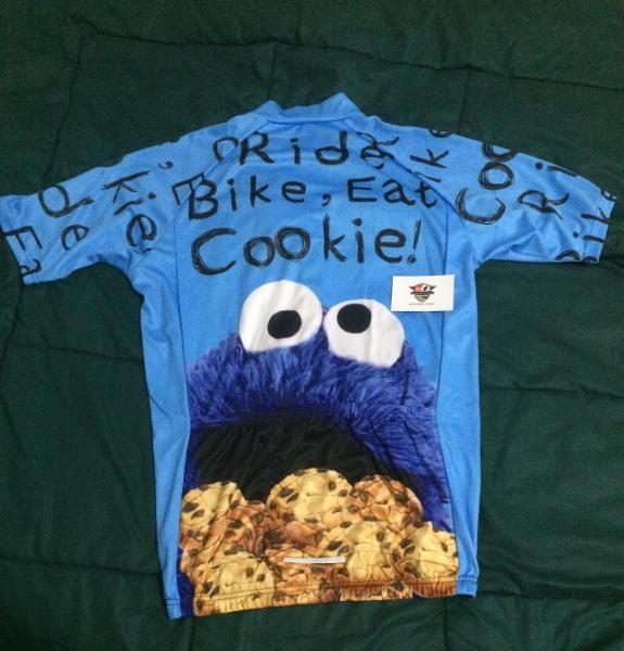 Jual Elmo Cookies Bike Jersey - TokoGrosirjkt1  23b7257fe