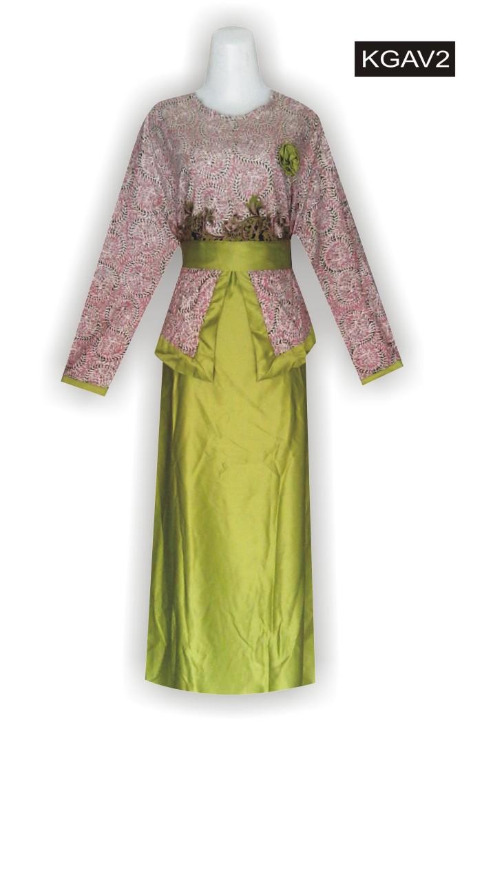 Jual Macam Macam Model Batik Wanita Model Baju Batik Wanita Modern KGAV2 Kab Mojokerto Haliza Batik