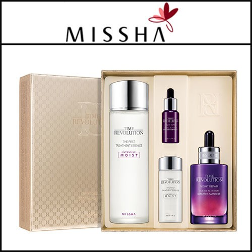 [missha] time revolution best seller special gift set.
