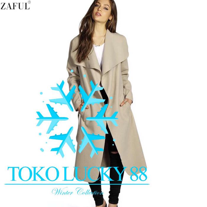 harga Jaket coat wool winter musim dingin Tokopedia.com