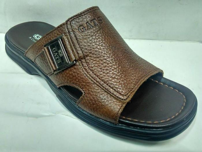 Sandal Kulit GATS - OR 611 Brown
