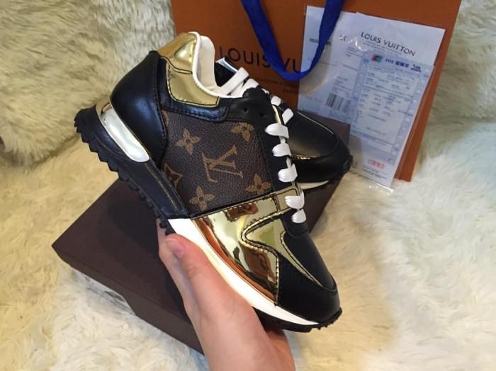 Jual Sepatu sneaker wanita cewek lv louis vuitton kw mirror ori ... 6a489e7b1b
