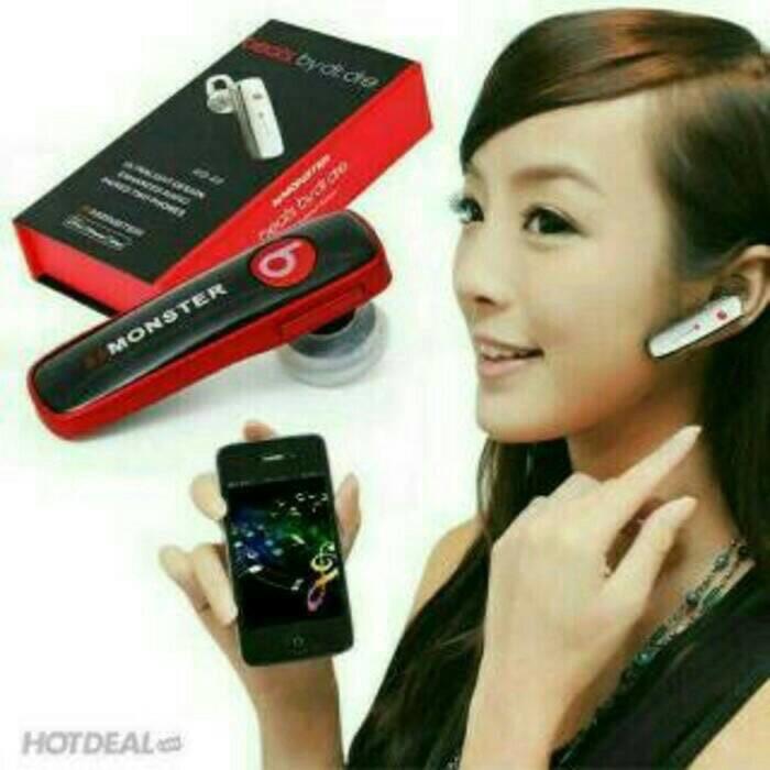 harga Bluetooth headset stereo monster beats by dr dre Tokopedia.com