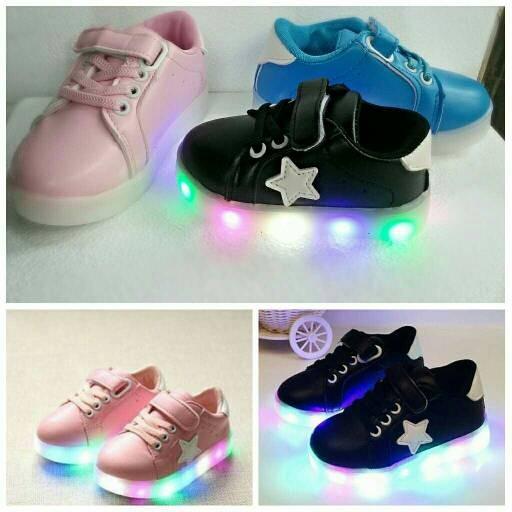 harga Sepatu walker balita led star baby / sepatu anak balita, paud Tokopedia.com
