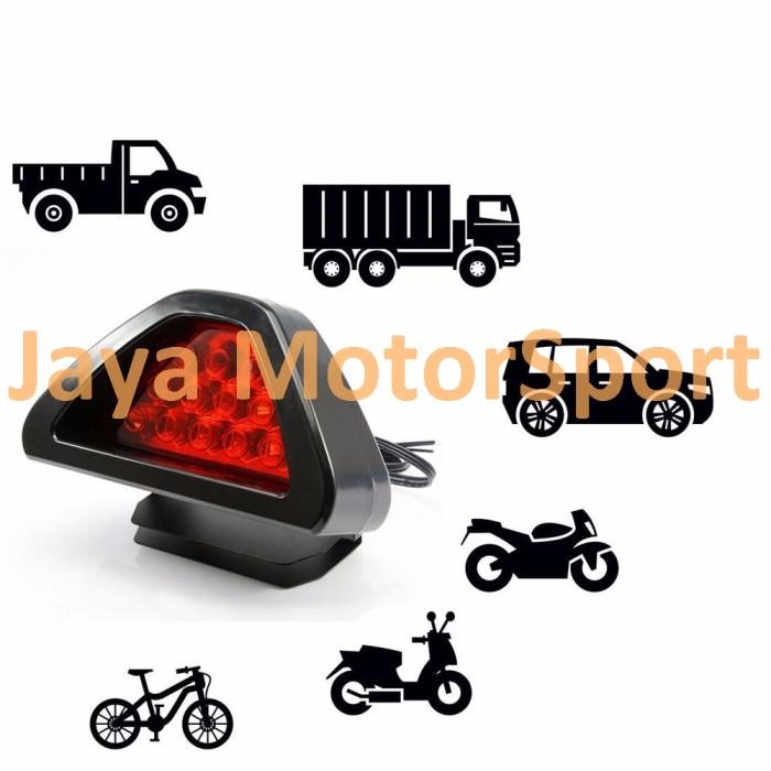 ... Lampu Rem Belakang Rear Tail Brake Stop Light F1 Style LED 12 SMD