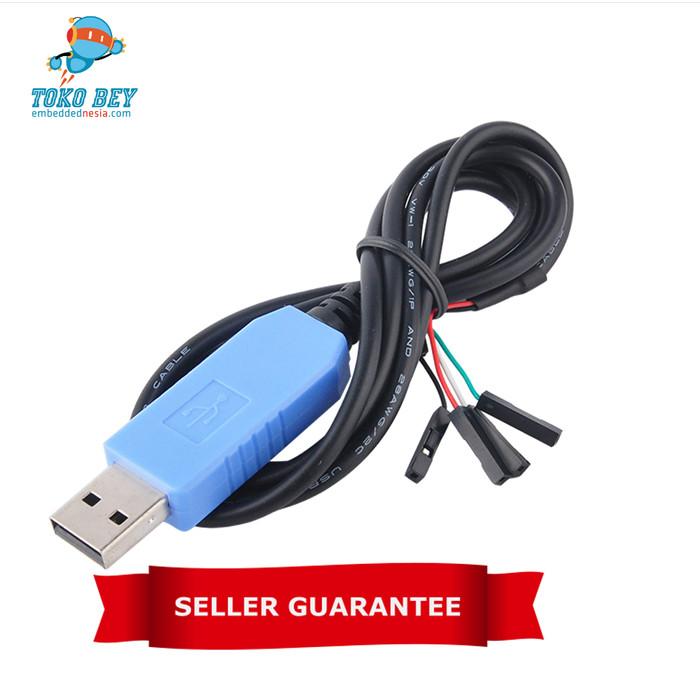 Foto Produk Kabel Console/Debug USB to TTL Serial PL2303 TA USB TTL Raspberry Pi dari TOKO BEY