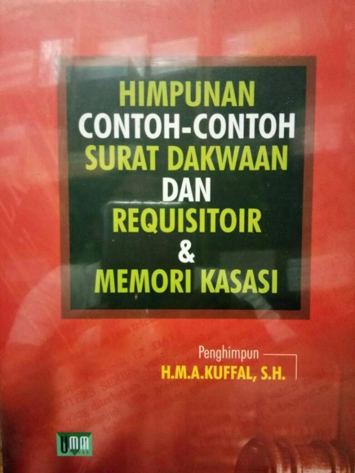 Jual Himpunan Contoh Contoh Surat Dakwaan Dan Requisitoir Umm Dki Jakarta Naausa Election Tokopedia