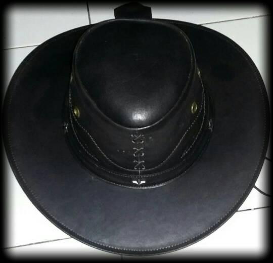 Jual topi koboi ato laken kulit asli garut - bifa leather  011bd101f7