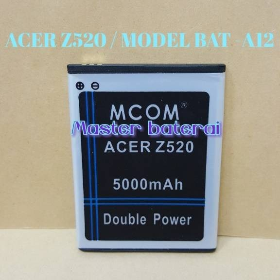 harga Baterai acer z520 / z 520 model bat-a12 double power ic protection Tokopedia.com