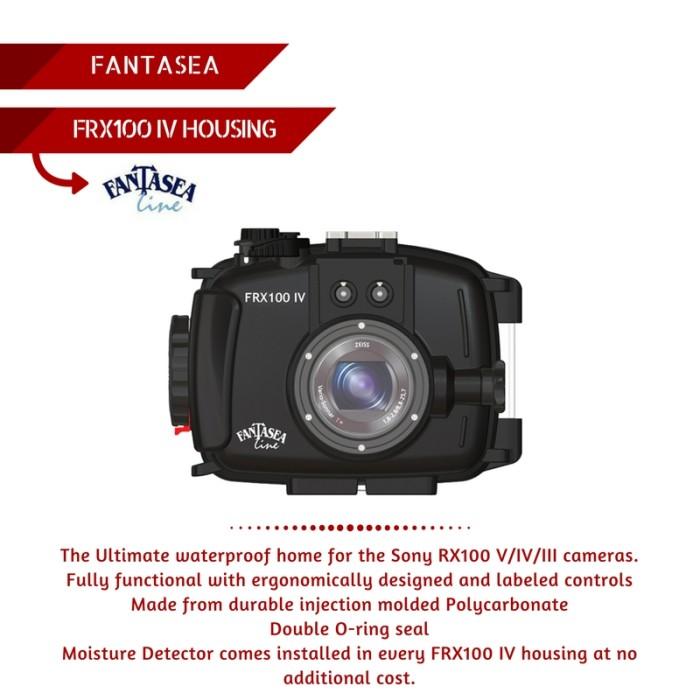 harga Fantasea frx100 v housing for sony rx100 iii/iv/v Tokopedia.com