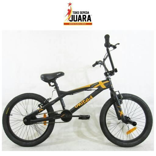 harga Sepeda united jumper x 01 bmx 20 inch freestyle Tokopedia.com