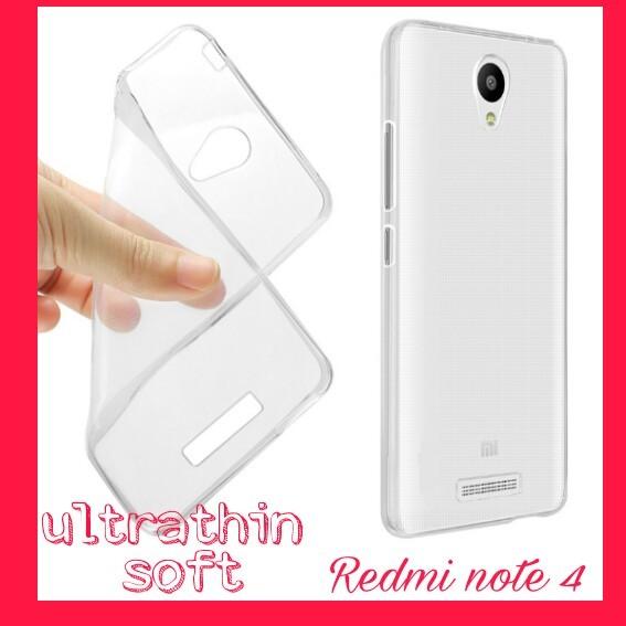 SOFT CASE ULTRATHIN XIAOMI REDMI NOTE 4