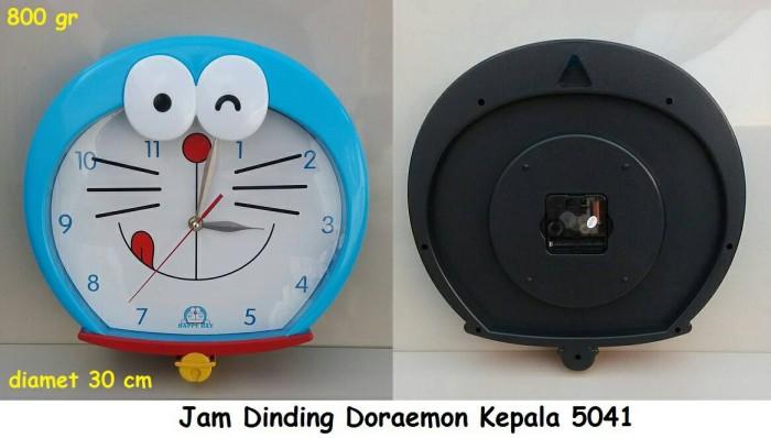 harga Jam dinding doraemon kepala 5041 Tokopedia.com
