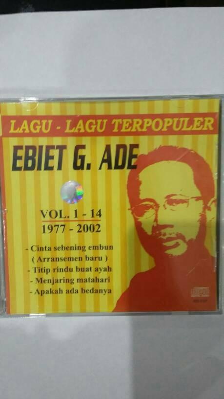 harga Cd original ebiet g ade - lagu-lagu terpopuler ebiet g ade vol. 1-14 Tokopedia.com